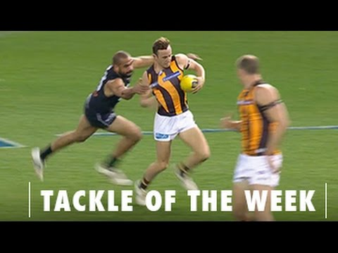 Tackle of the Week - Chris Yarran (Rd17)