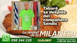 Tabaré Vázquez se despide de Sendic