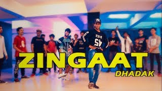 Zingaat Hindi | Dhadak | Dance Choreography @Ajeesh krishna