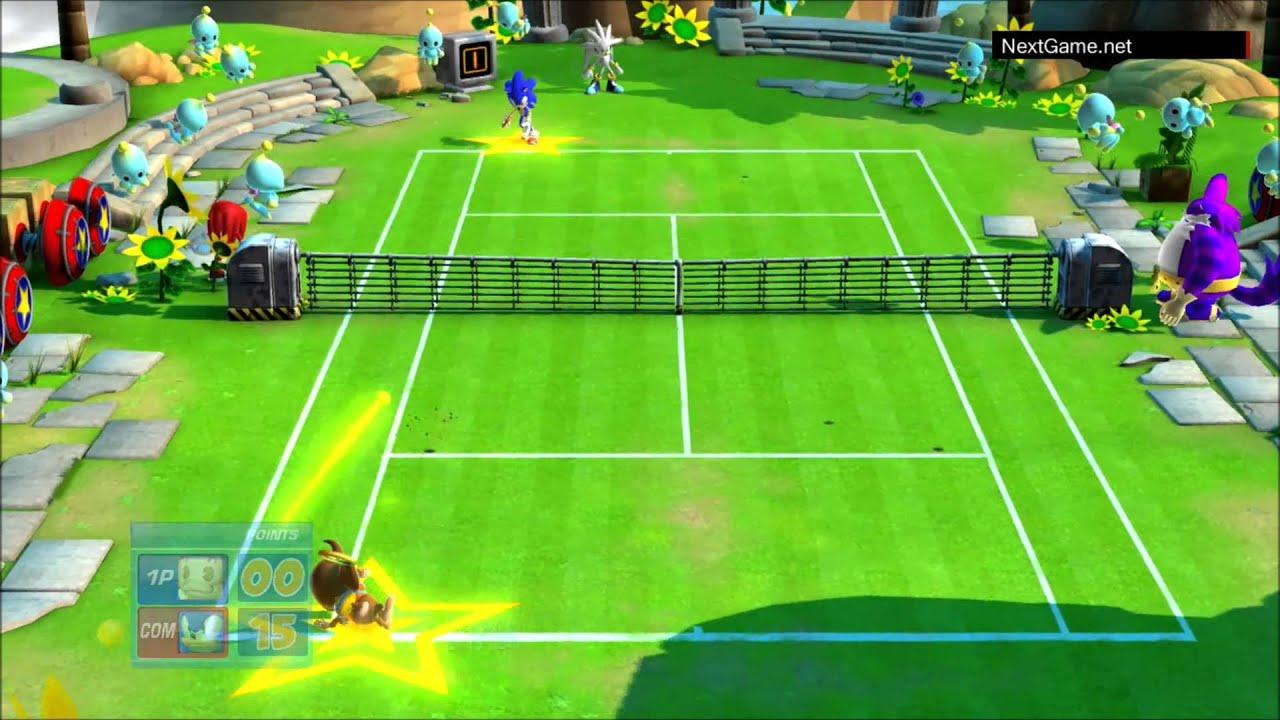 Sega Superstars Tennis - Gameplay (PS3) 720p