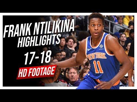 Knicks PG Frank Ntilikina 20172018 Season Highlights ᴴᴰ