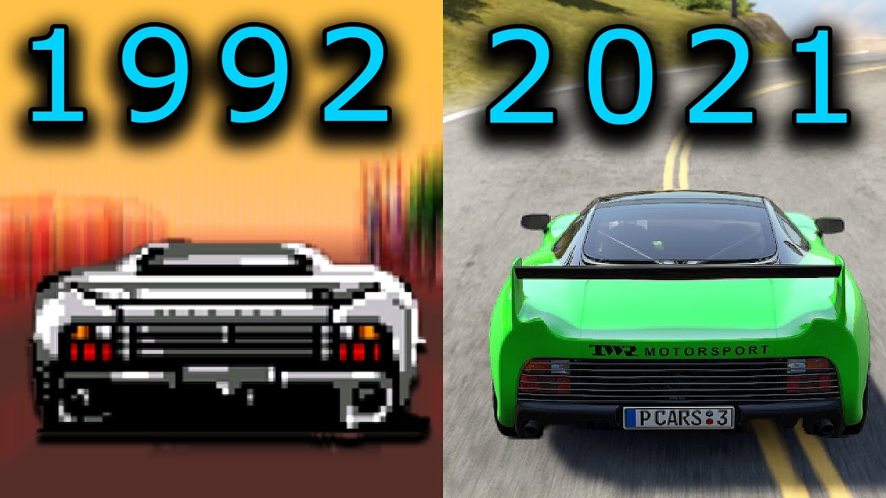 JAGUAR XJ220 in 30 Different Games
