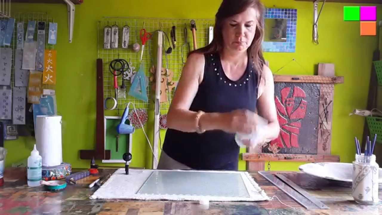 Cómo cortar círculos de vidrio - YouTube