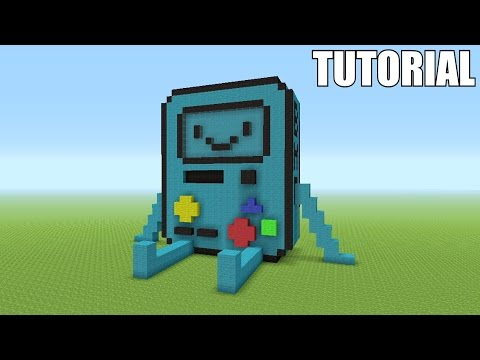 """Minecraft Tutorial: How To Make A B.M.O """"Adventure Time"""" !! (Survival House)"""