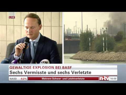 1 TOTER UND MINDENSTENS 6 VERMISSTE ! | BRAND UND EXPLOSION BASF Ludwigshafen | 17.Oktober.2016