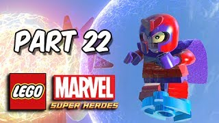 LEGO Marvel Super Heroes Gameplay Walkthrough - Part 22 Mastermind Taking Liberties