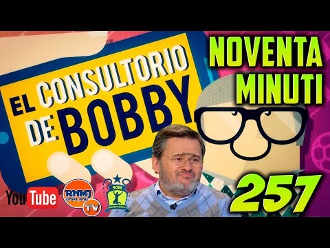 90 MINUTI 257 Real Madrid TV (16/01/2018) El Consultorio de Bobby