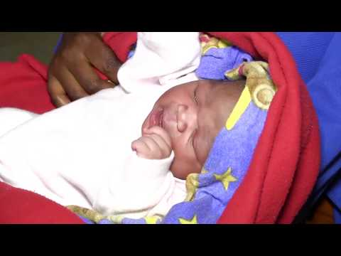 Postnatal education Mbarara Hospital