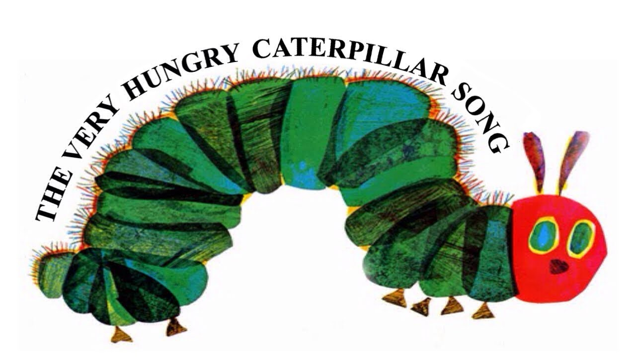 the very hungry caterpillar song youtube. Black Bedroom Furniture Sets. Home Design Ideas