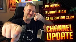Patreon Account | Merchandise | Subnautica | Generation Zero | Channel Update thumbnail