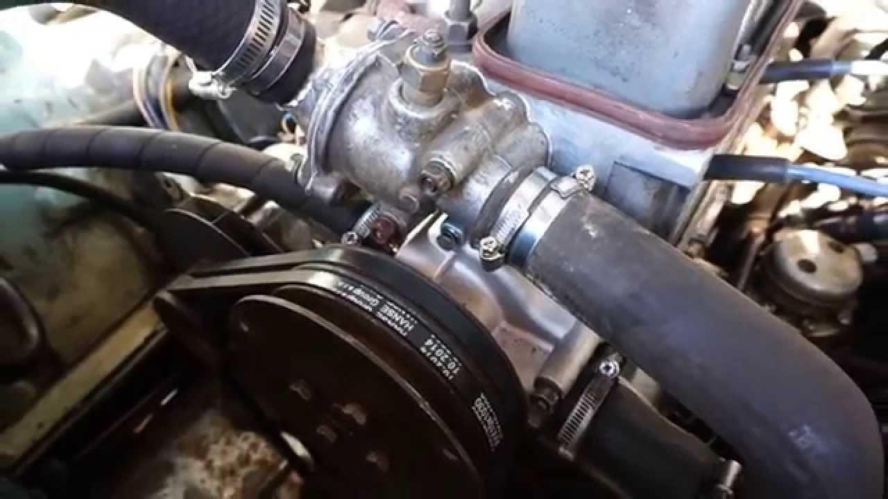 волга ,двигатель 402 меняем помпу,как поменять помпу №2 - YouTube