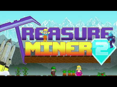 Treasure Miner 2 - Best Mining Game for Android / iOS 2017 - Baue deine eigene Mine