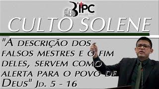 Culto Solene - 23/08/2020