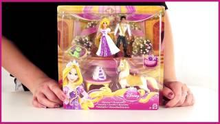 Disney princess  Набор с мини куклой Свадьба Рапунцель и Флинна X5113)