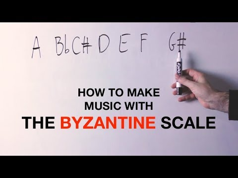The Surf Rock Exotic Scale: The BYZANTINE Scale