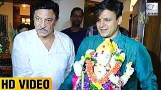 Vivek Oberoi's Ganesh Visarjan 2017 FULL VIDEO | LehrenTV