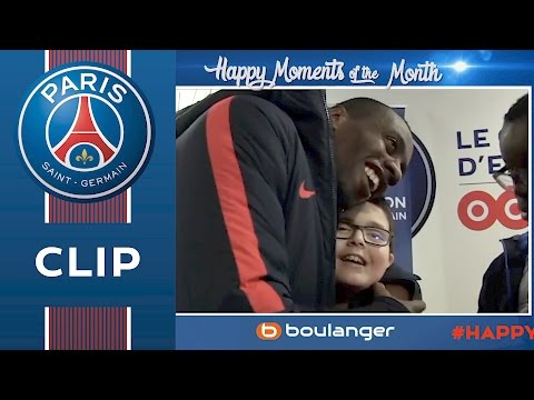 HAPPY MOMENTS OF THE MONTH with Matuidi