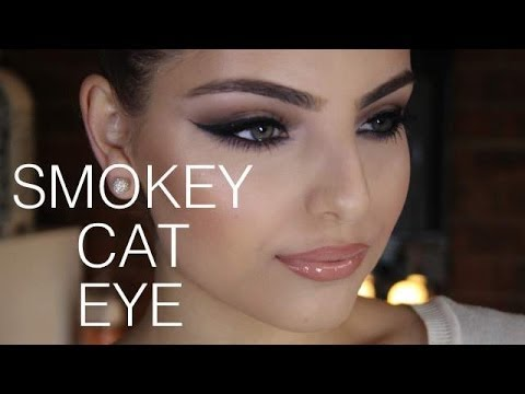smokey cat eye tutorial youtube. Black Bedroom Furniture Sets. Home Design Ideas