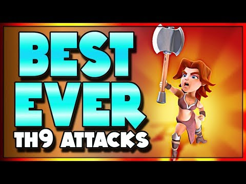 Three AMAZING TH9 Strategies To 3 Star TH10's   Clash Of Clans
