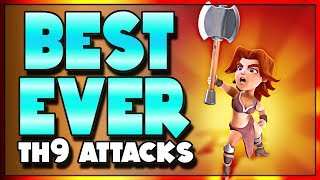 Three AMAZING TH9 Strategies to 3 Star TH10's | Clash of Clans