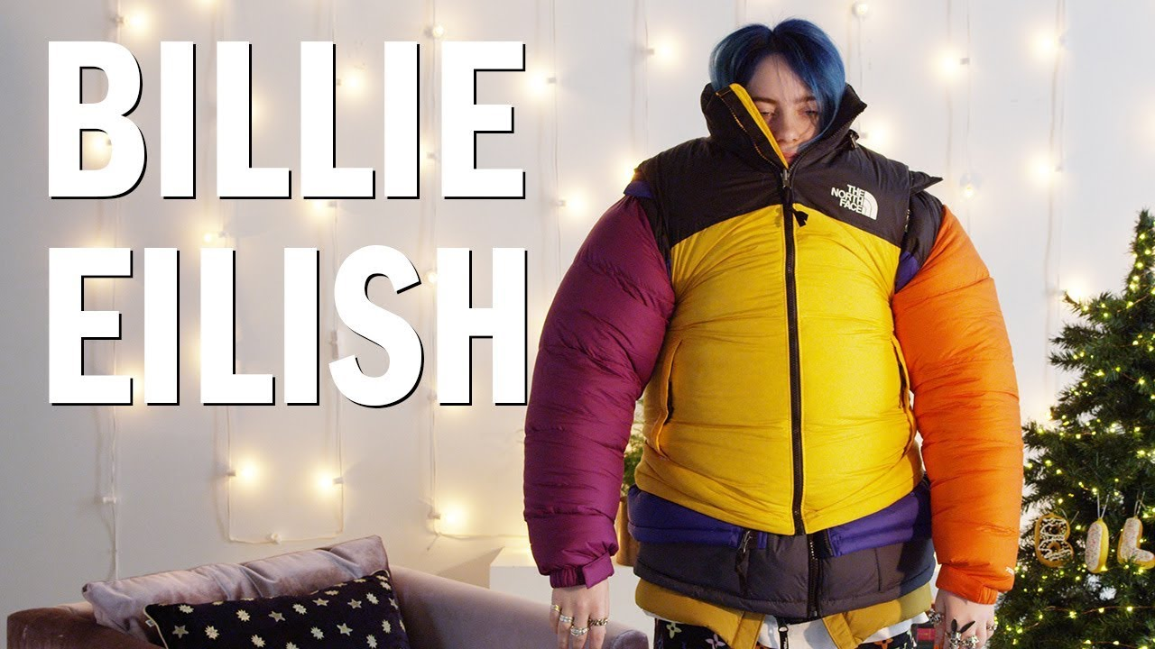 Billie Eilish Attempts The Puffer Jacket Challenge Open Up Youtube