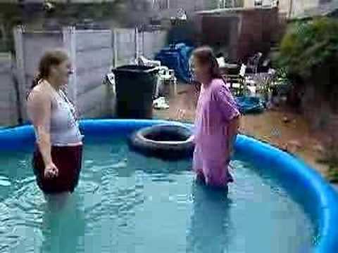 2 Girls Fucked The Pool 'two guys one girl