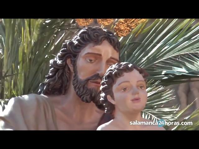 Semana Santa Salamanca 2017 | Procesión de la borriquilla