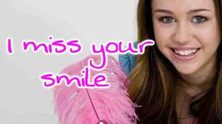 Miley Cyrus: I Miss You Lyrics