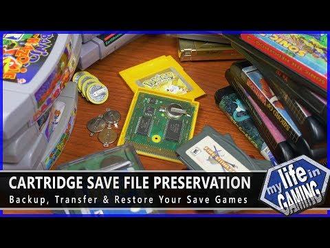 Cartridge Save File Preservation – Backup, Transfer