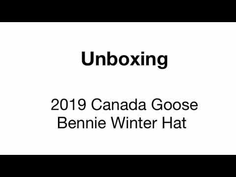 CANADA GOOSE Winter Hat Unboxing