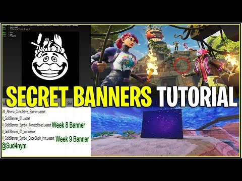 *NEW* Fortnite: HOW TO UNLOCK THE SECRET BANNERS! | (Tomato Tribal and More!)