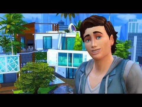 The Sims 4 - VISITANDO A MANSÃO DO PRÍNCIPE