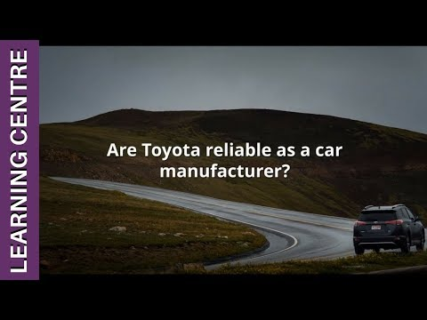 Are Toyota Reliable?    OSV Learning Centre