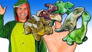 Dinosaur Finger Family Song | Finger Family Songs for Children