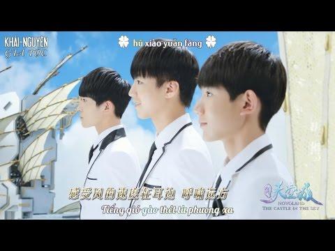 """[Vietsub MV] TFBoys – Great Dreamer (大梦想家) [OST """"Cửu Châu Thiên Không Thành""""]"""