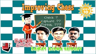 Improving Chess episode 12 | ft. Samay, Vaibhav & Biswa