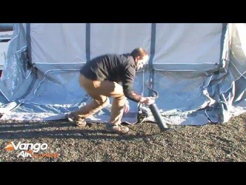 Vango Capri 500xl Amp 600xl Pitching Amp Packing Video Real