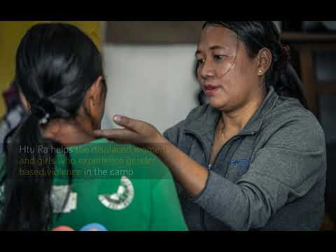 Displaced women and girls are empowered in conflict-scarred Kachin