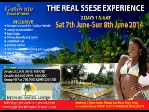 THE REAL SSESE EXPERIENCE 2014,  ,By GOTOVATE TOURS & TRAVEL