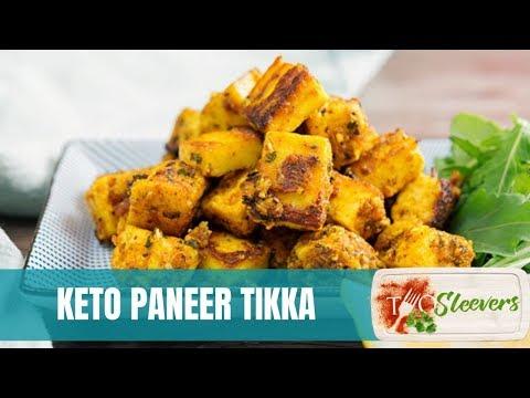 easy-paneer-tikka-keto-snack-recipe