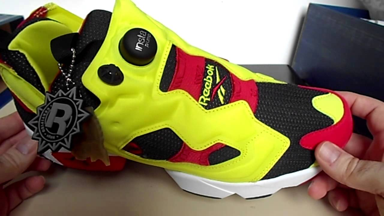 339abc1e70cf81 Reebok Insta Pump Fury OG Citron - YouTube