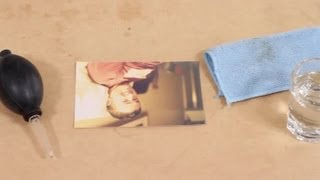 How to Clean Color Photo Prints : Photography Ideas & More