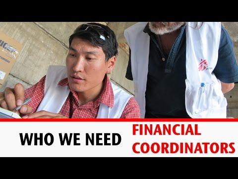 Who We Need: Financial Coordinators