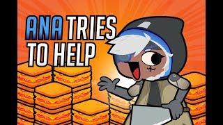 Ana Tries to Help / Overwatch Animation
