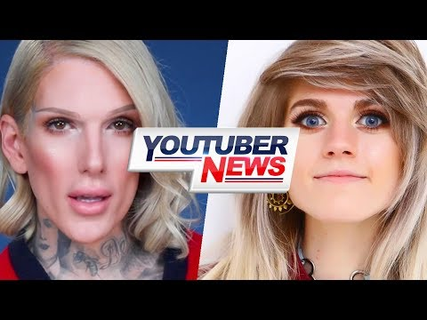 "Jeffree Star's Lipsticks Are ""SWEATING""   YouTuber News thumbnail"