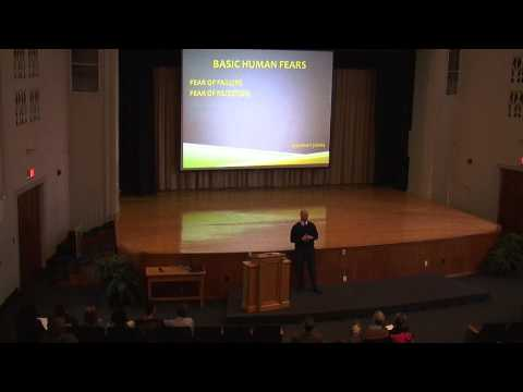 First Year Lecture: Professor Jeff Hoffman on overcoming fears