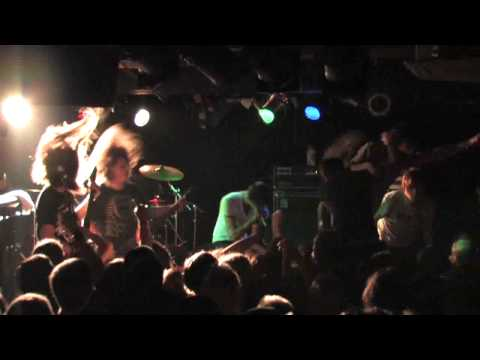 Suicide Silence - Unanswered and Bludgeoned to Death live @ London Underworld 2008 [proshot and HD]