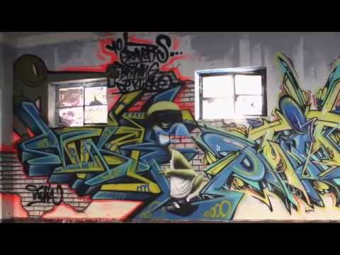 graffiti timelapse 'fun @ the paintyard 6'