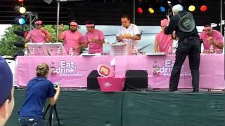 joey chestnut wing contest
