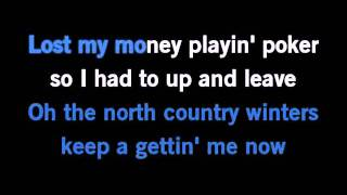 Wagon Wheel-Old Crow Medicine Show Karaoke